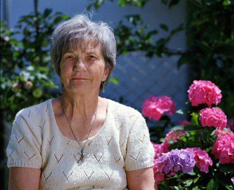 Ældre kvinde