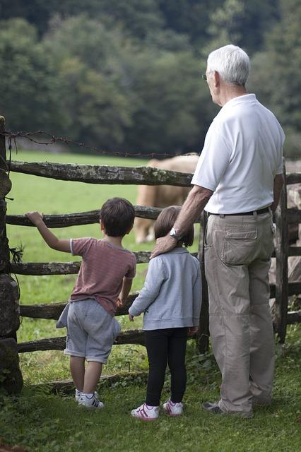 børnebørn og bedste forældre